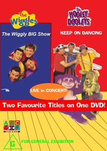 The Wiggles and The Hooley Dooleys - The Wiggly Big Show and Keep on Dancing DVD Cover - Copy.jpg