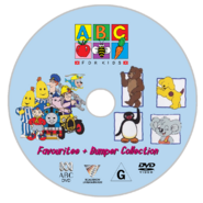 ABC for Kids - Favourites + Bumper Collection DVD - Disc