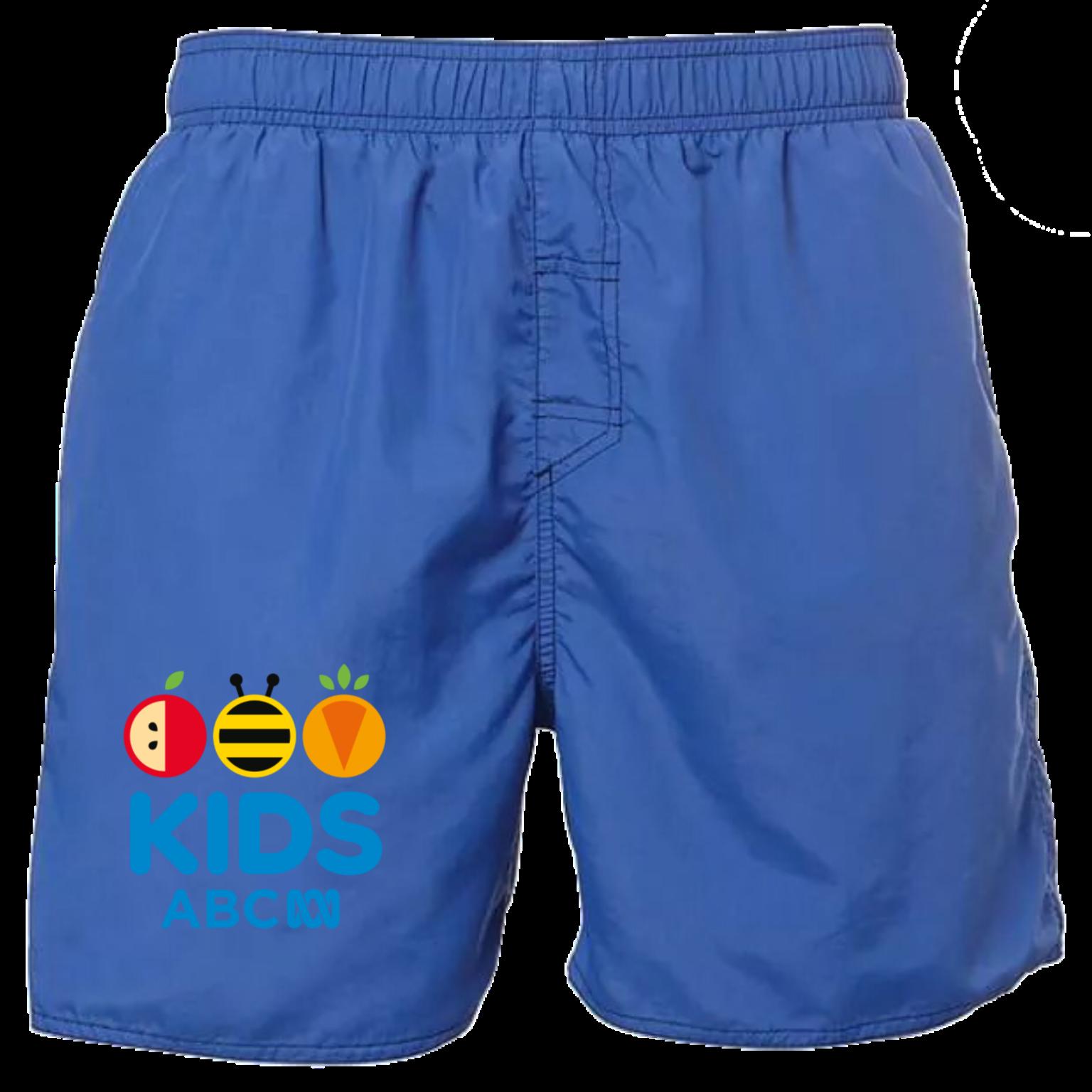ABC Kids Men's Swim Shorts Royal Blue Size M.png