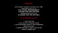 WarningScreenWidescreen DVD (2001)