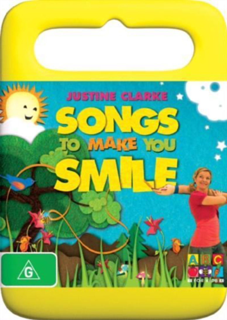 Songs to Make You Smile (Justine Clarke DVD)