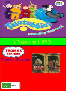 Naughty Noo Noo and Time for Trouble DVD Cover (Alternate Version).png