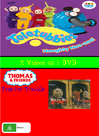 Naughty Noo Noo and Time for Trouble DVD Cover (Alternate Version)