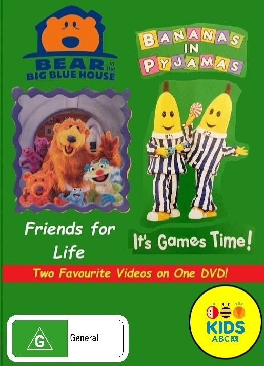 BitBBH/Bananas in Pyjamas - Friends for Life/It's Games Time 2018 (re-release)