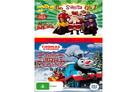 Go Santa Go and Santa's Little Engine DVD Cover