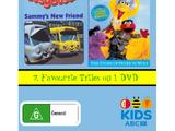 Busy Buses Sammys New Friend/Sesame Street Elmo's Musical Adventure