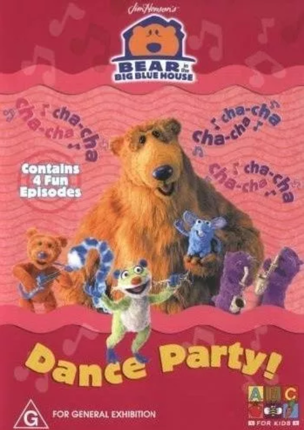 Dance Party! (Bear in the Big Blue House DVD)