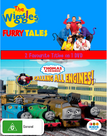 Furry Tales and Calling All Engines DVD Cover