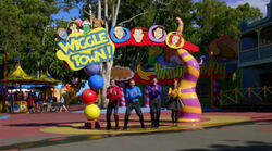 Click here to view the image gallery for Wiggle Town! (video).