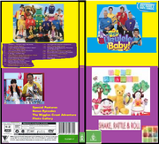 The Wiggles & Play School Ukulele Baby & Shake Rattle & Roll 2019 DVD Cover.png