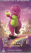 Barney's Great Adventure VHS Cover