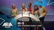 Hi-5 win Best Children's Album 2000 ARIA Awards