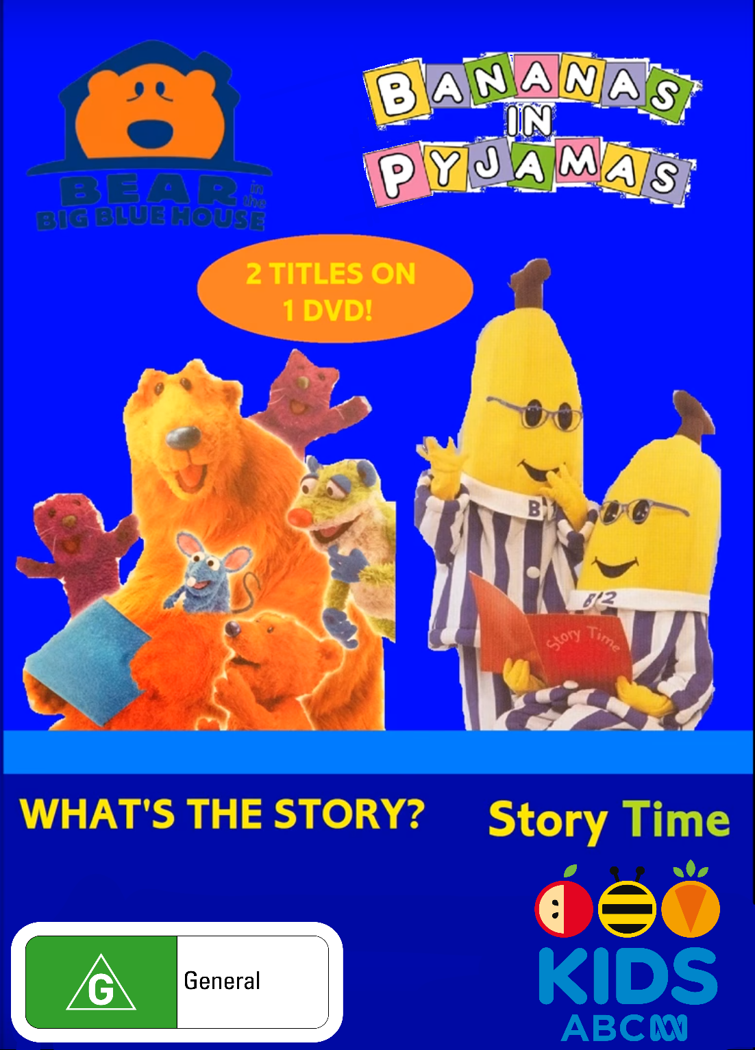 BitBBH and Bananas in Pyjamas - What's the Story and Story Time 2018 (re-release)