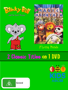 Blinky Bill and the Lost Puppy and Flying Panda DVD Cover.png