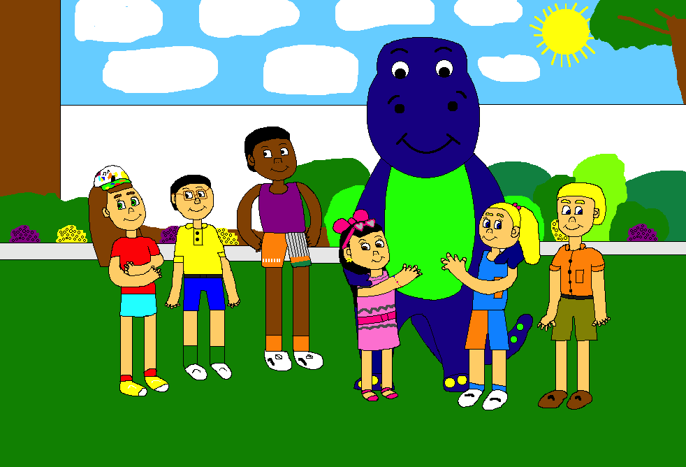 Barney and the Backyard Gang's Three Wishes (CGI Remake)