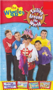 The Wiggles Sailing Around The World Cassette Front Cover