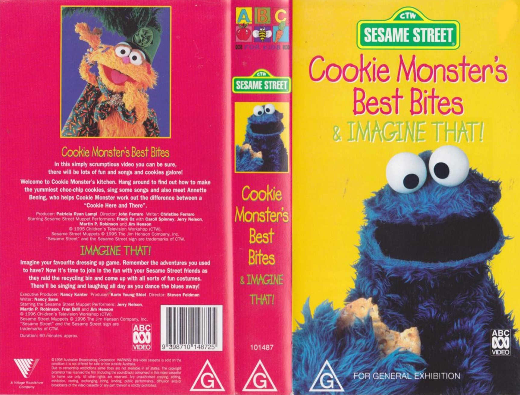 Cookie Monster's Best Bites and Imagine That/Gallery