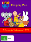Camping Pack DVD Cover