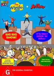 The wiggles and arthur - big, big show and it's only rock n roll dvd cover - copy.jpg