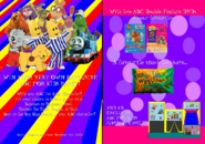 ABC for Kids Party Pack 2018 re-release DVD Booklet - Inside