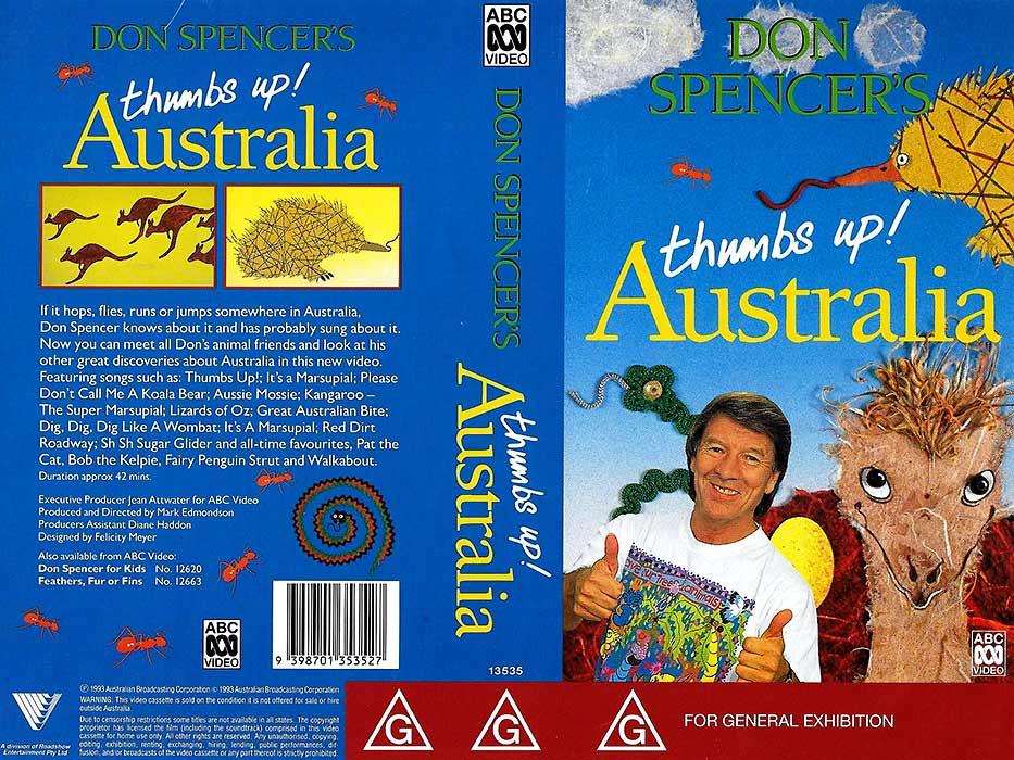 Don Spencer's Thumbs Up Australia