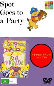 Spot Goes to a Party and Big Parade DVD Cover.png