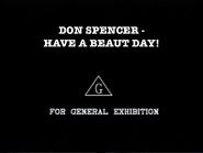 DonSpencerHaveaBeautDay!General