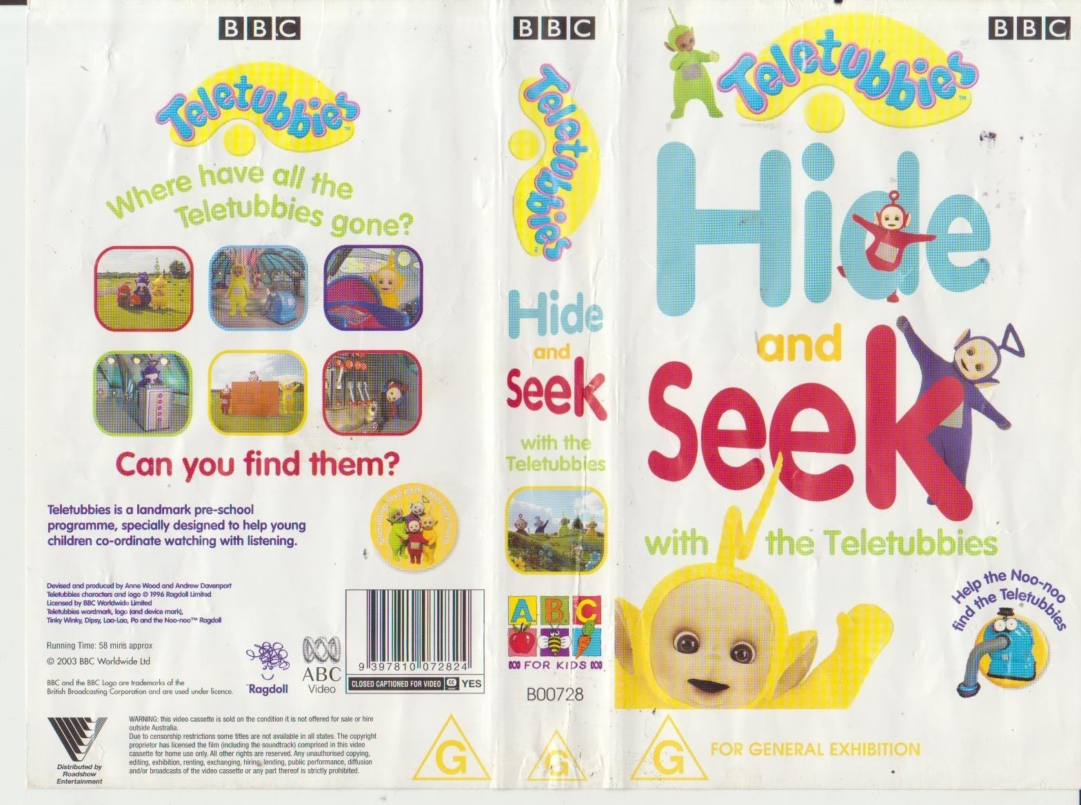 Hide and Seek with the Teletubbies