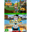 The Big Dino Dig and Day of the Diesels DVD Cover