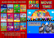 ABC for Kids Movie Time - Racing to the Rainbow + Thomas and the Magic Railroad DVD Guide