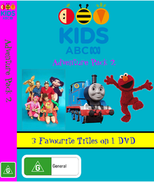 ABC For Kids Adventure Pack 2 DVD Cover.png