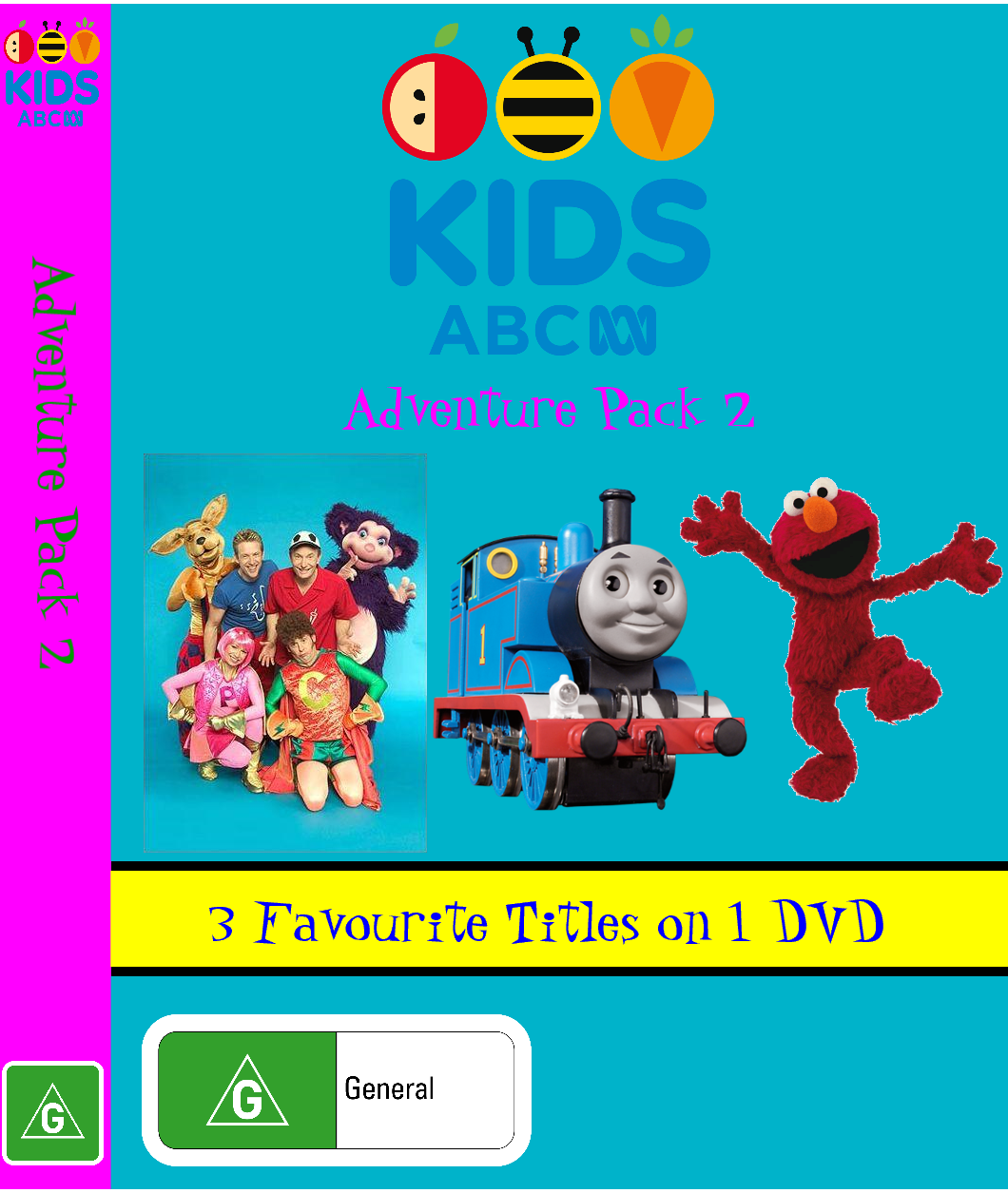 ABC For Kids Fanon: ABC For Kids - Adventure Pack 2 (video)