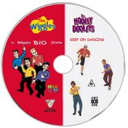 The Wiggles and The Hooley Dooleys - The Wiggly Big Show and Keep on Dancing DVD - Disc