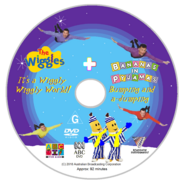 The Wiggles and Bananas in Pyjamas - IAWWW and BAAJ re-release DVD Disc