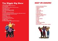 The Wiggles and The Hooley Dooleys - The Wiggly Big Show and Keep on Dancing DVD Booklet - Copy