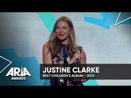 Justine Clarke wins Best Children's Album - 2013 ARIA Awards