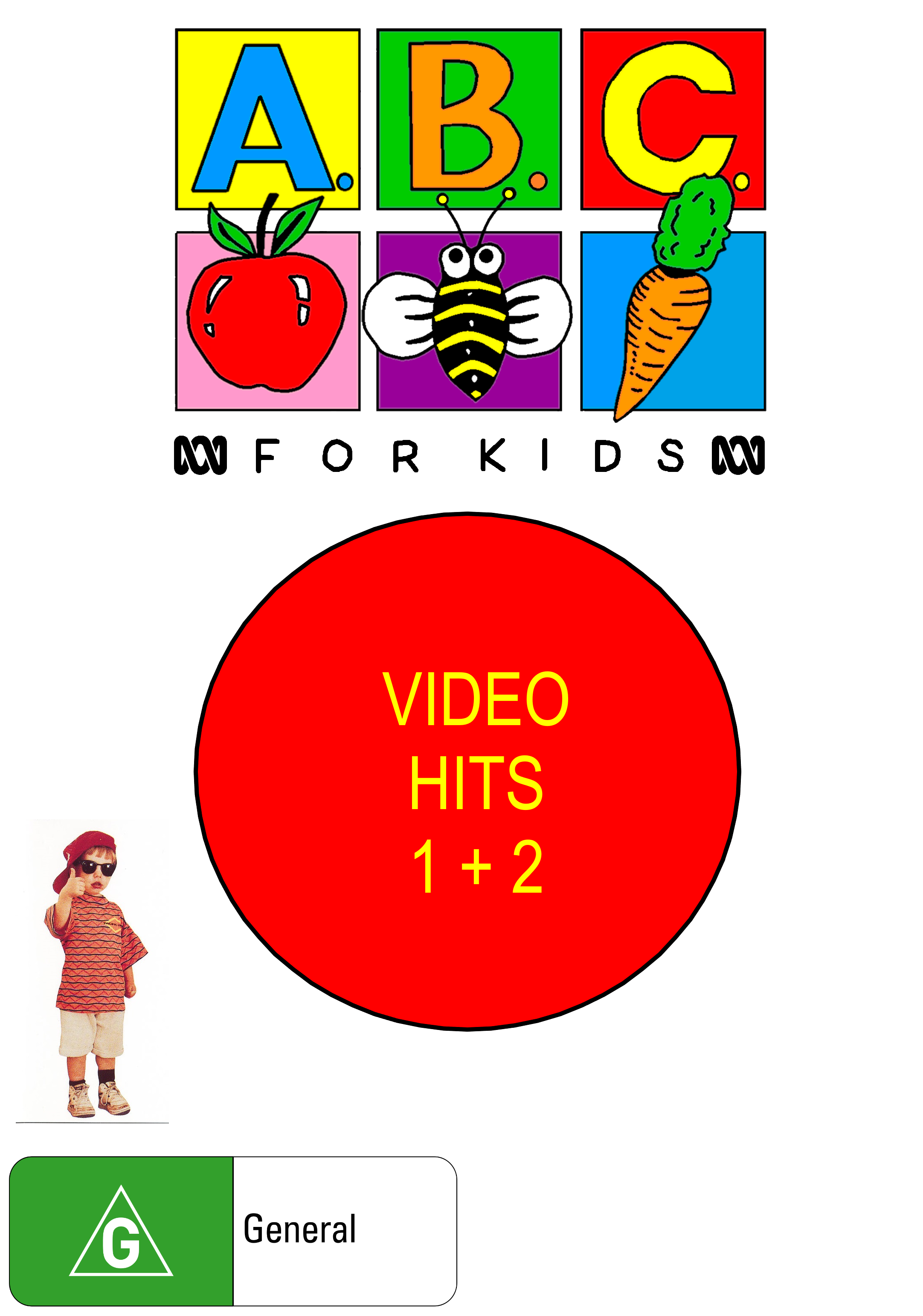 ABC for Kids Fanon: ABC for Kids Video Hits 1 + 2 (video)