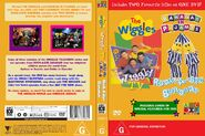 The Wiggles and Bananas in Pyjamas - Wiggly TV and Rock-A-Bye Bananas DVD Cover