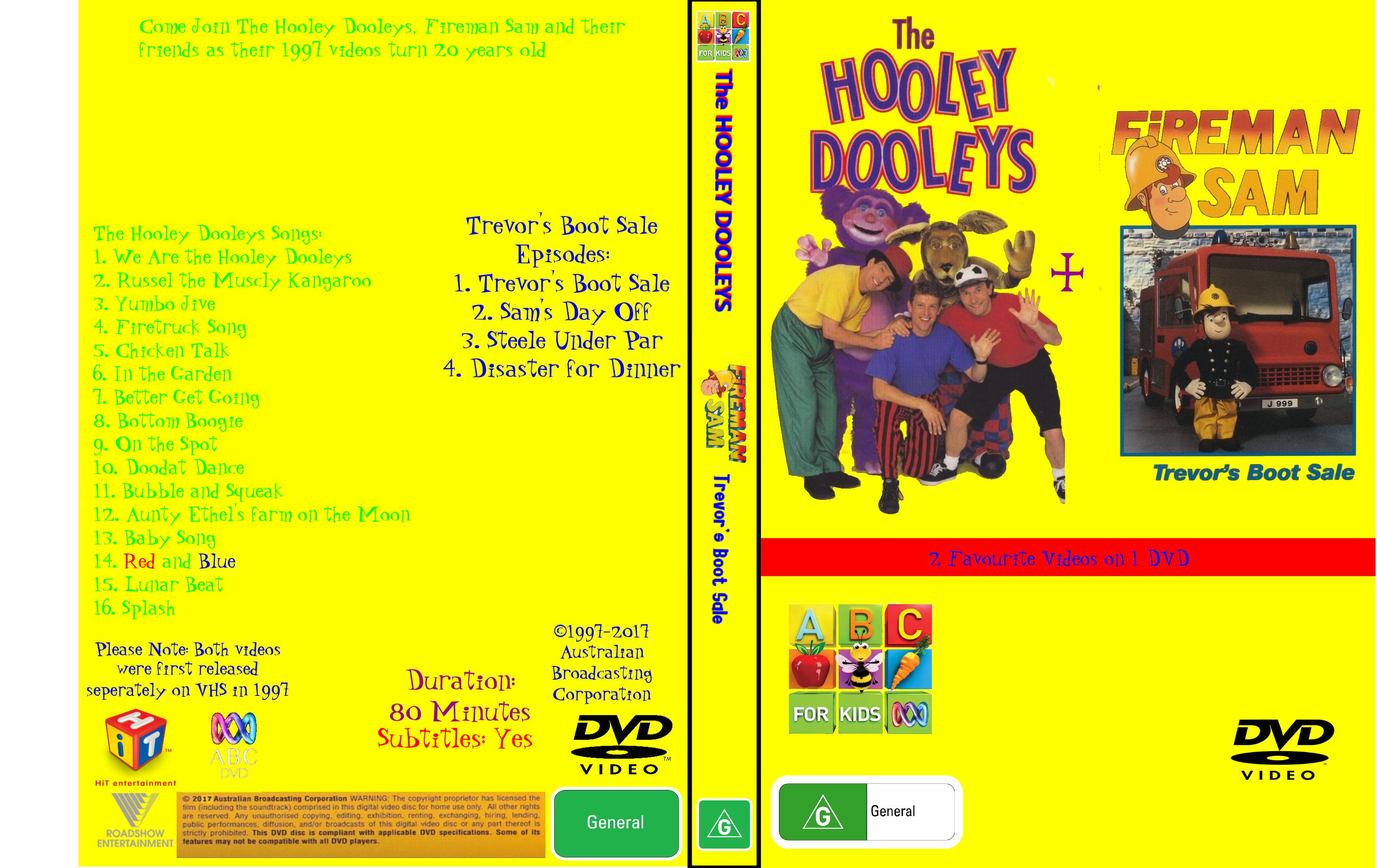 The Hooley Dooleys + Fireman Sam - Trevor's Boot Sale