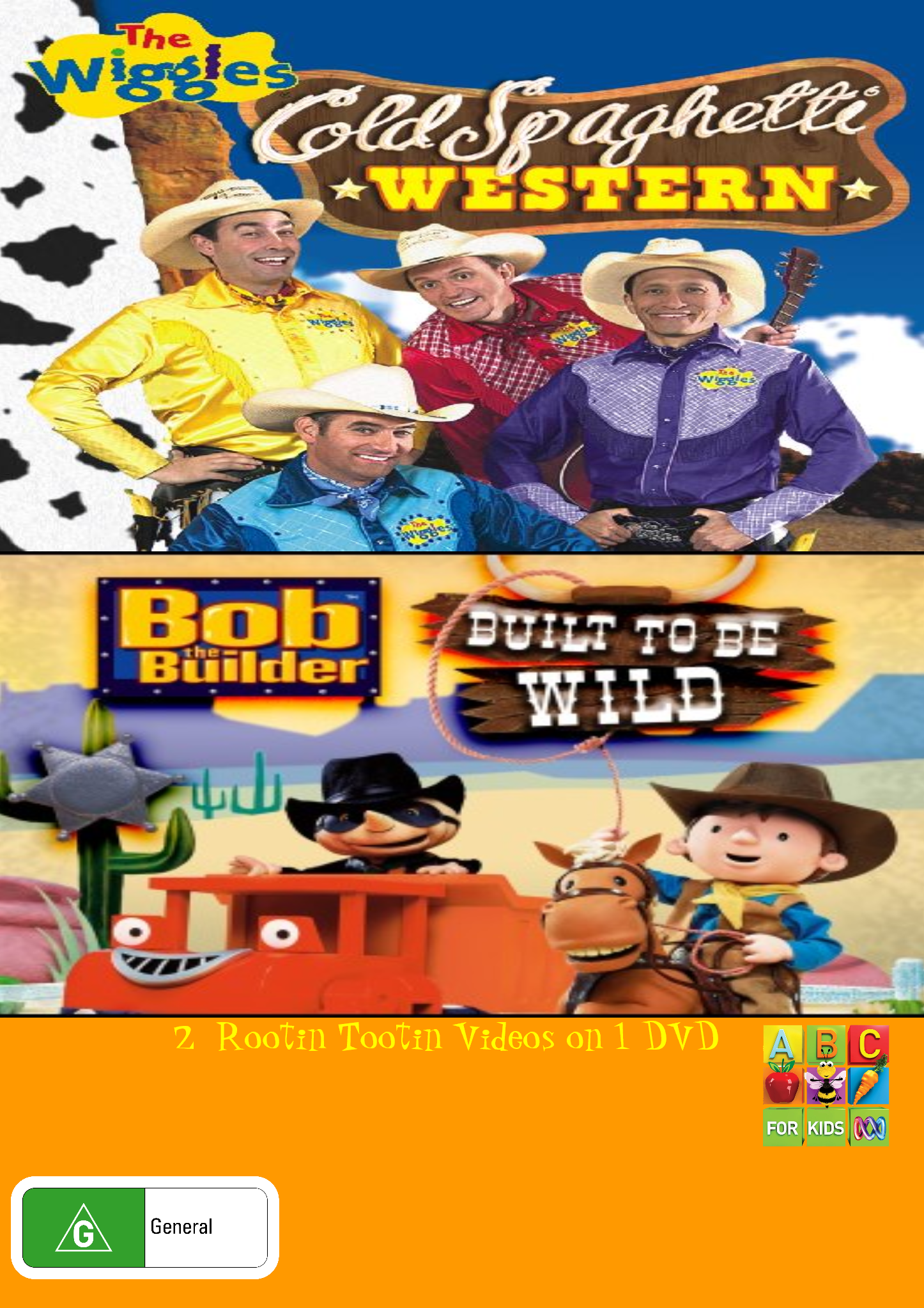 The Wiggles and Bob the Builder Cold Spaghetti Western and Built to Be Wild (video)