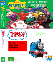 The Wiggles and Thomas and Friends Wiggly Wiggly Christmas and the Biggest Ever Christmas Collection DVD COVER.png