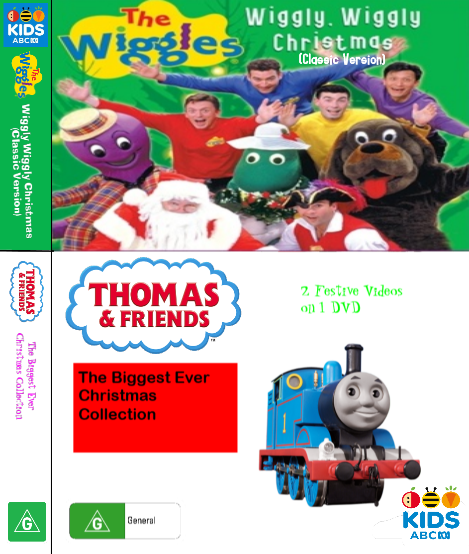 The Wiggles and Thomas and Friends: Wiggly Wiggly Christmas and The Biggest Ever Christmas Collection (video)