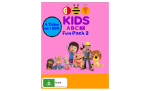 ABC For Kids Fun Pack 2 DVD Cover.png