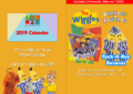 The Wiggles and Bananas in Pyjamas - Wiggly TV and Rock-A-Bye Bananas re-released DVD Cover - Booklet