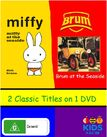 Miffy and Brum at the Seaside DVD Cover