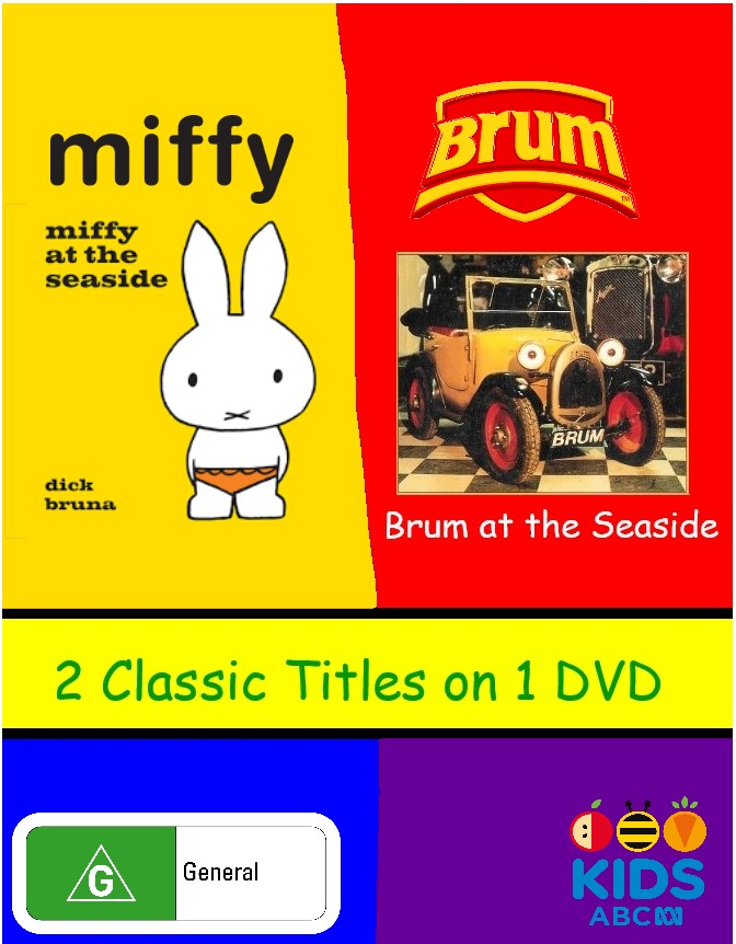 Brum at the Seaside/Miffy at the Seaside (video)