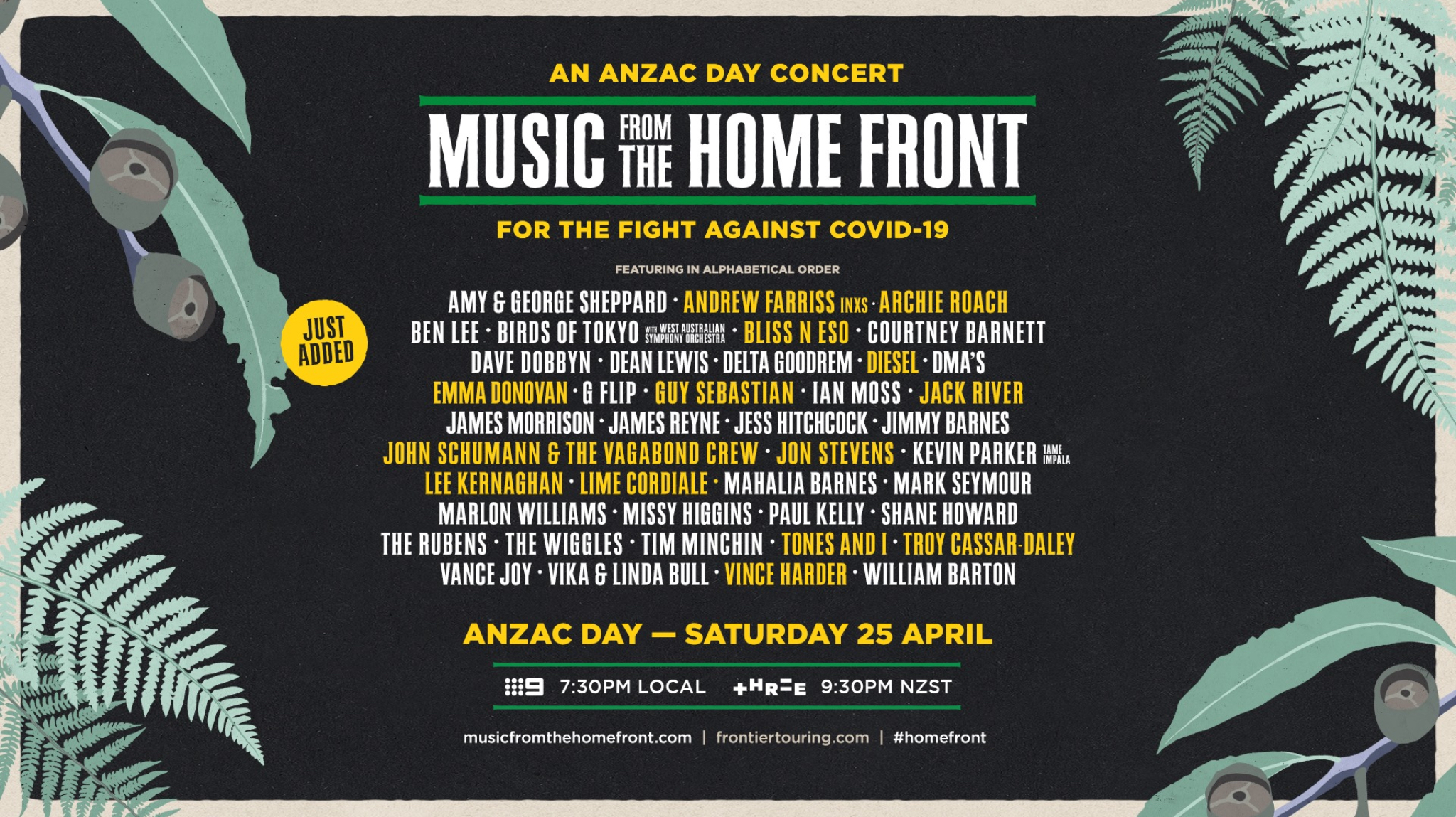 Music From The Home Front - Televised Concert