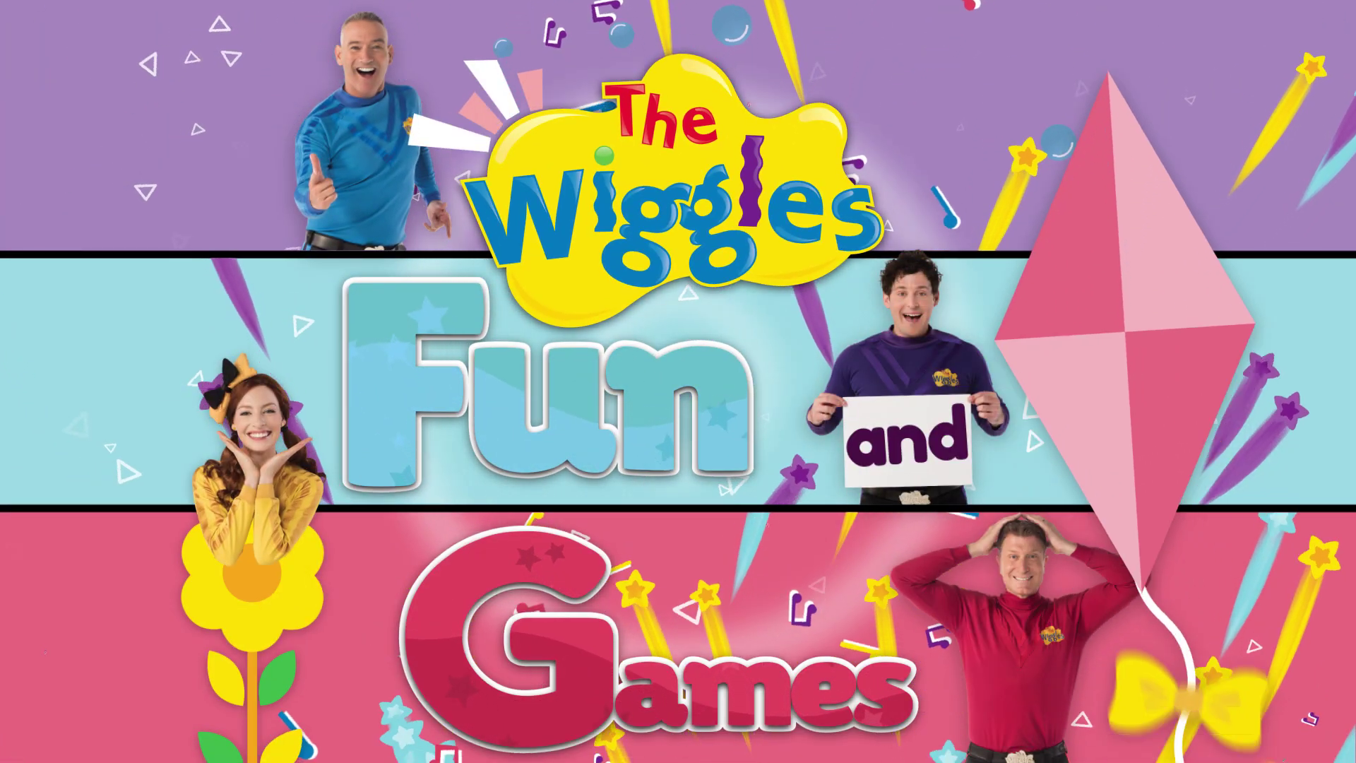 Fun and Games (The Wiggles video)/Transcript