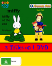Miffy at the Zoo and Lost Cat DVD Cover