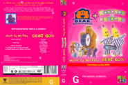 Bear in the Big Blue House and Bananas in Pyjamas - Music to My Ears and Beat Box 2018 re-release DVD Cover